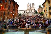 Spain Square in Rome — Stock Photo