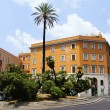 Small square in Rome — Stock Photo