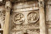 Triumphal arch in Rome — Stock Photo