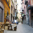 Street in Naples - Stock Photo