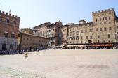 Siena's main square — Stock Photo