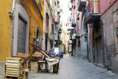 Street in Naples — Stock Photo
