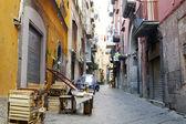 Street in Naples — Stock Photo
