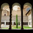 The courtyard of San Giovanni - Stock Photo