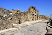 A street in Pompeii — Stock Photo