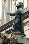 статуя святого — Стоковое фото