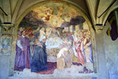 Fresco of the convent of Santa Maria Novella — Stock Photo