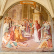 Frescoes of the Church of Santa Maria Novella — Stock Photo