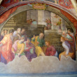 Royalty-Free Stock Photo: Frescoes of the Church of Santa Maria Novella