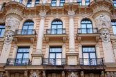 Art Nouveau building — Stock Photo