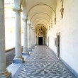 Stock Photo: Colonnade monastery