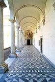 Colonnade monastery — Stock Photo