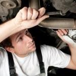 Mechanic at work — Stock Photo #11989582