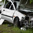 Car accident Crash - Stock Photo
