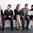 Waiting for job interview - Stock Photo