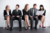 Attente pour entretien d'embauche — Photo