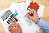 Home finances — Stock Photo