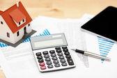 Finanças domésticas — Fotografia Stock