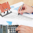 Home finances — Stock Photo