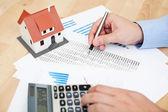 Finanças domésticas — Foto Stock