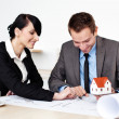 Two architects working — Stock Photo #25734603