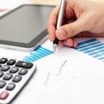 finansal veri analizi — Stok fotoğraf