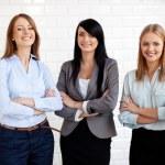 Three businesswoman — Stock Photo