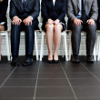 Stock Photo: Waiting for job interview