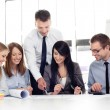 Group of architects working at office — Stock Photo