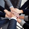 Business joining hands — Foto Stock