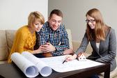 Selling real estate — Stock Photo