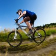 Mountain bike downhill — Stock Photo #29271911