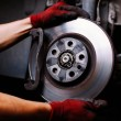 Stock Photo: Brake repair