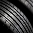 Stock Photo: Sport tires isolated