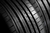 Closeup of summer tire — Stock Photo
