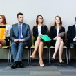 Waiting for interview — Stock Photo