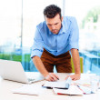 Businessman working in office — Stock Photo #33034977