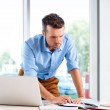 Businessman working in office — Stock Photo #33035011