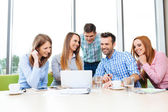 Corporate meeting — Stock Photo