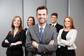 Team leader — Stock Photo