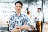 Young professional in office — Stock Photo
