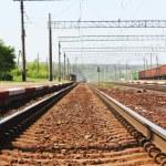 Railroad track — Stock Photo #12163514