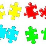Puzzle — Foto de Stock   #12162211