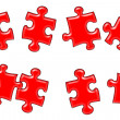 Puzzle solution — Stock Photo