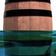 Wine barrel — Stock Photo