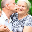 Stock Photo: Elderly couple