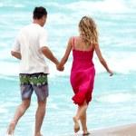 Couple on the beach — Stock Photo #12166131