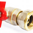 Stock Photo: Plumbing supplies