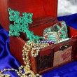 Stock Photo: Chest jewelry box