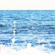 Stock Photo: Deep Blue Ocean